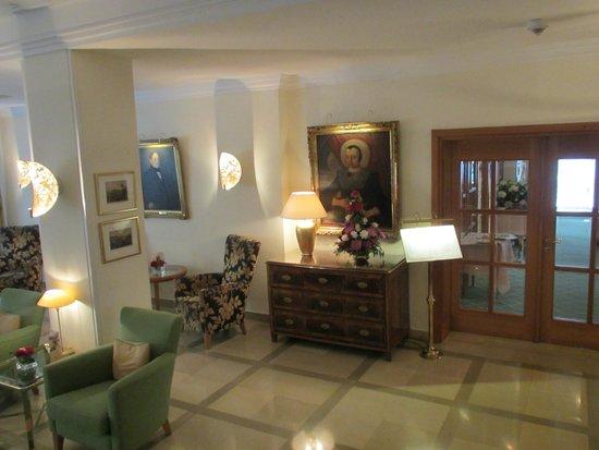 Hotel Reutemann und Seegarten: Hotel Seegarten - Lobby