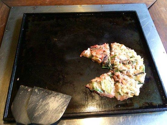 Asakusa Okonomiyaki Sometaro: Veg Okonomi-yaki