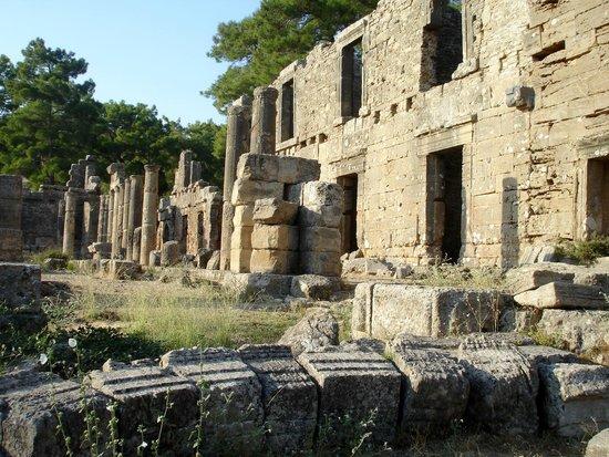 Seleukia (Lybre): agora