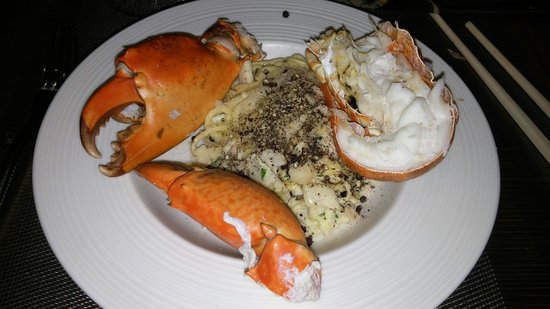 Hotel Nikko Saigon: Made my own seafood pasta