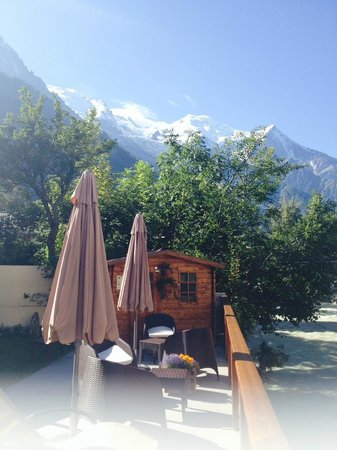 Hotel Gourmets et Italy: View from the outdoor area