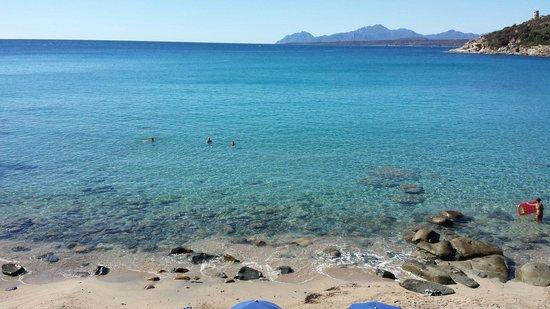 Camping Telis: Spiaggia privata campeggio telis