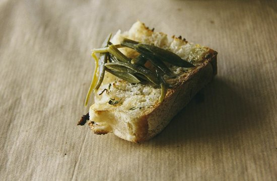 Tou Kostantaki : Bread with olive oil