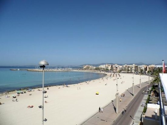 Majorca, Spain: Blick vom Rodes nach Can Pastilla