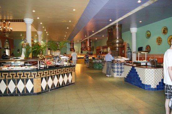 Iberostar Costa Dorada: grande variétés au buffet