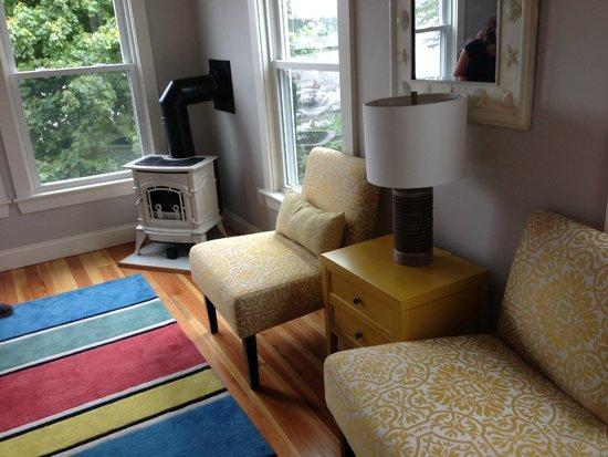 Nonantum Resort : Our room and the Nonantum