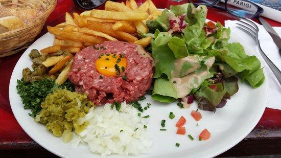 Botak Cafe: tartare
