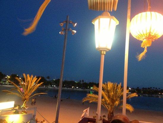 Restaurante Gran China : Sea view