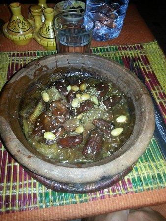 Restaurant Ramsess: tagine d'agneau aux dattes