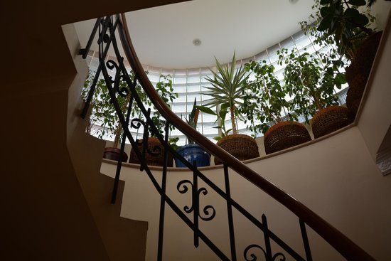 Dila Suites: Staircase