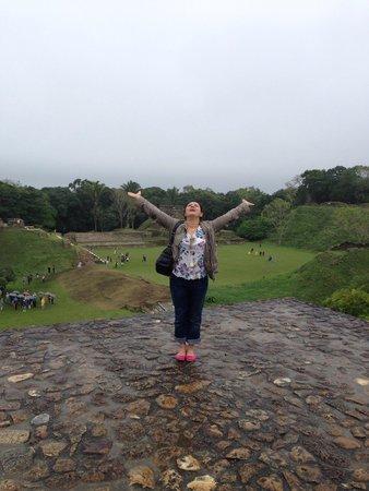 Maya-Ruinen von Altun Ha: Tarihe Dokunmak
