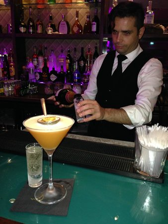 Royal Yacht Hotel: fabios mixology our favourite