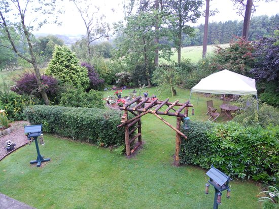 Lisco Farm Bed & Breakfast: view from our bedroom