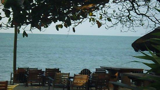 Canto d'Alvorada Pousada: Vista parcial de la Playa.