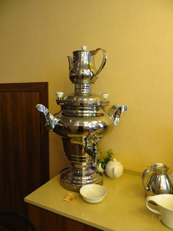 Courtyard Moscow Paveletskaya: Hora do chá