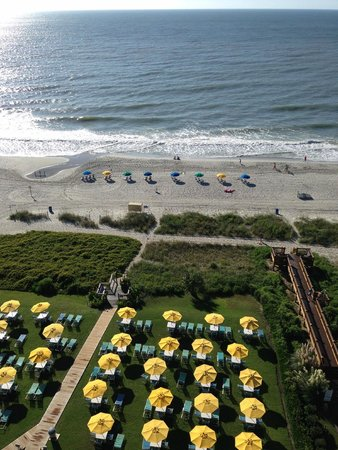 Dayton House Resort: Beachfront Balcony View