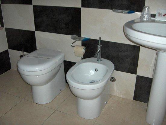 Il Patino: Dotazioni del bagno