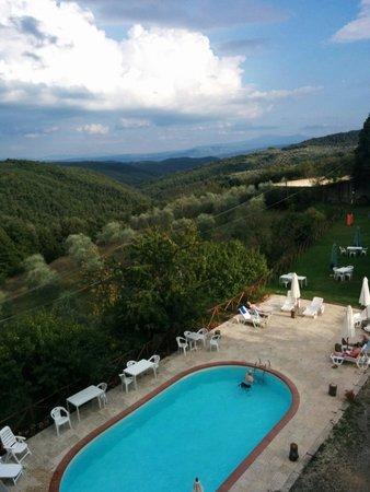 Easy Siena Hotel : La piscina dell'hotel