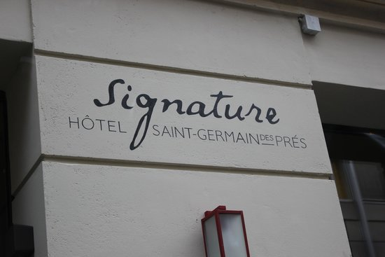 Hotel Signature St Germain des Prés : Logo