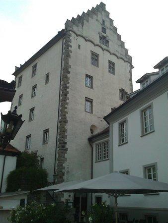 Hotel Bischofschloss: Innenhofsicht