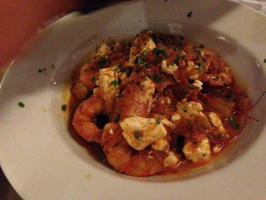Mediterraneo Taverna Ouzerie: Gamberi e feta