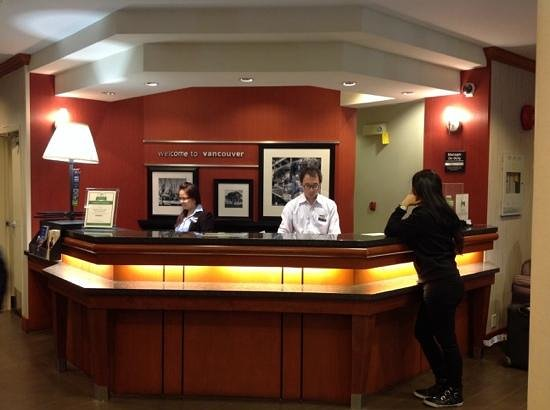 Hampton Inn by Hilton Vancouver Airport : friendly staff