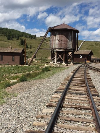 Cumbres & Toltec Scenic Railroad: Osier Train stop (lunch) on the Cumbres-Antonito Scenic Narrow Train ride