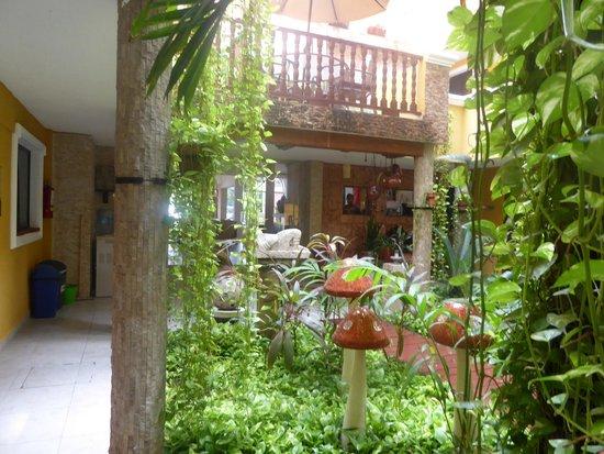 Hotel Las Golondrinas: zona de pileta