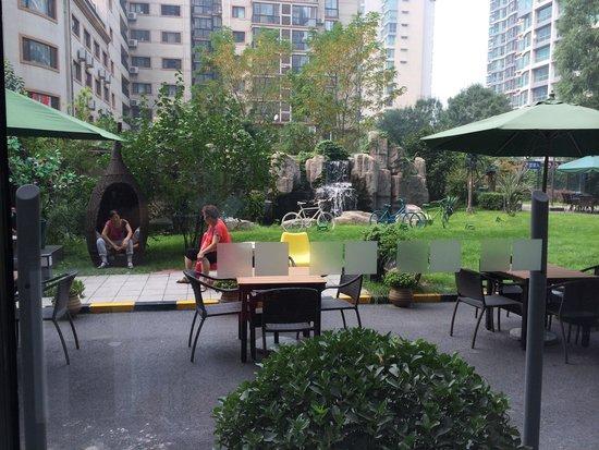 Holiday Inn Express Beijing Dongzhimen: The small little hangout place