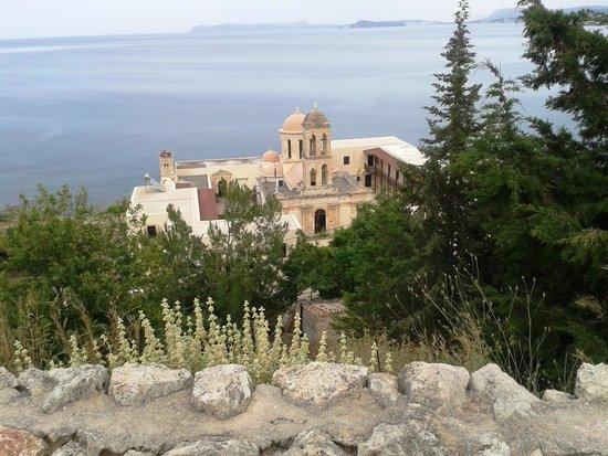 Kolymbari, กรีซ: dall'alto