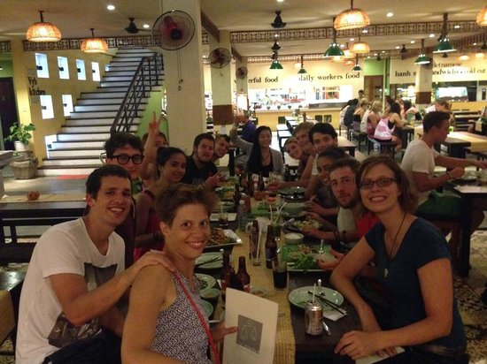 SacLo Homestay and Hostel : Sac Lo Gust out for diner