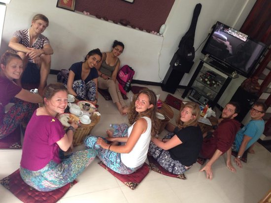 SacLo Homestay and Hostel : Guest have Breafast at Sac Lo