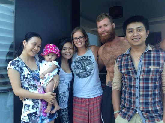 SacLo Homestay and Hostel: Binh Familly with the Gust