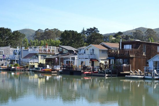 Sausalito Floating Homes Tour: Casas flotantes Sausalito