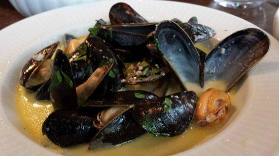 Cote Brasserie - Cambridge : mussels in white wine