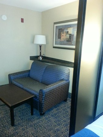 Comfort Suites Beaufort: Sitting Area in the room
