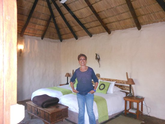 Chrislin African Lodge: our room inside