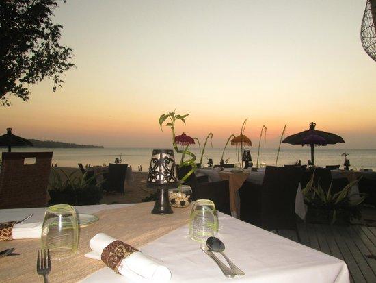 Belmond Jimbaran Puri: Terrasse restaurant