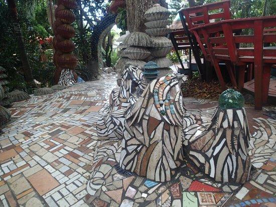Nightland Cabins at JadeSeahorse: Amazing Tile work