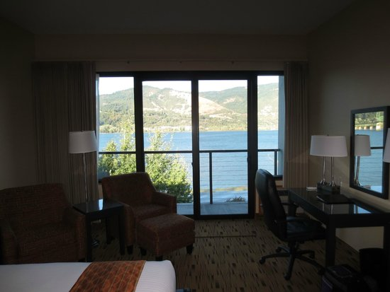 Best Western Plus Hood River Inn: View out of window