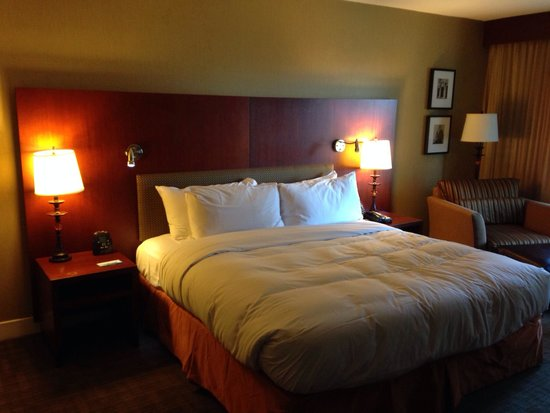 Hilton Toronto: Basic king bed room