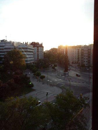 Holiday Inn Madrid-Piramides: Vistas desde la habitación