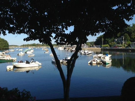 Cohasset Harbor Resort: View from room