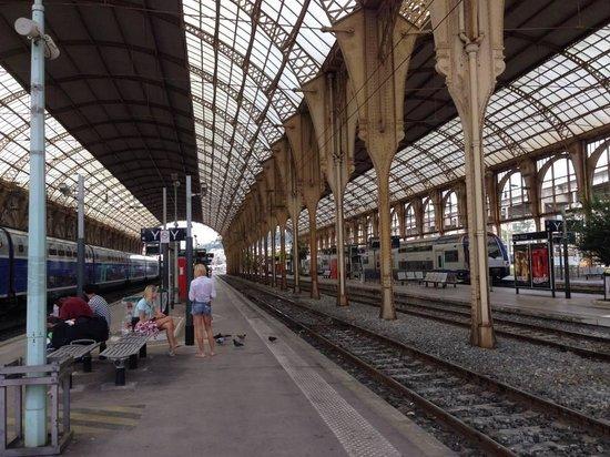 Train des Merveilles: プラットフォームから