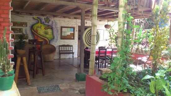La Casa de Francois : Atmosfera deliciosa para um cafe da manha