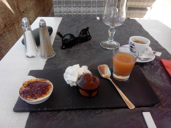 Le Continental : dessert gourmand