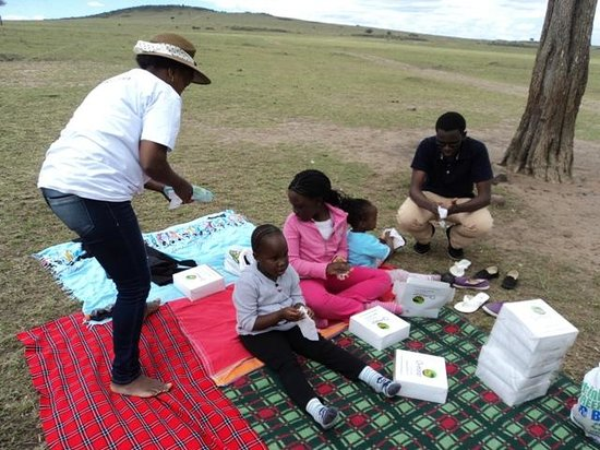 Ol-moran Tented Camp: Picnic lunchboxes