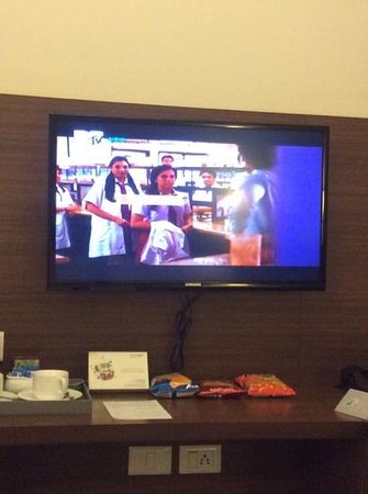 Leisure Inn Grand Chanakya: televison and picture quality