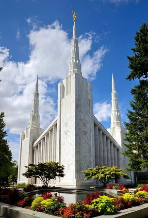Portland Oregon Temple Visitors' Center