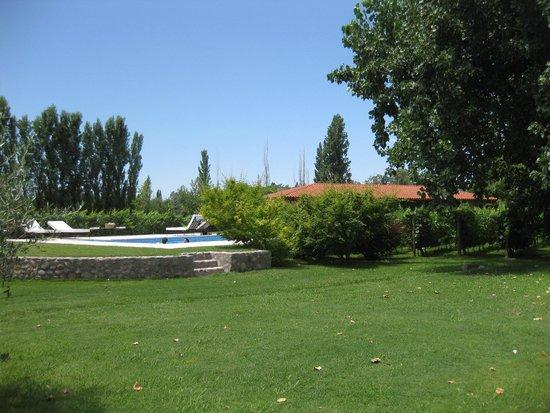 Posada Verde Oliva: Veranda View